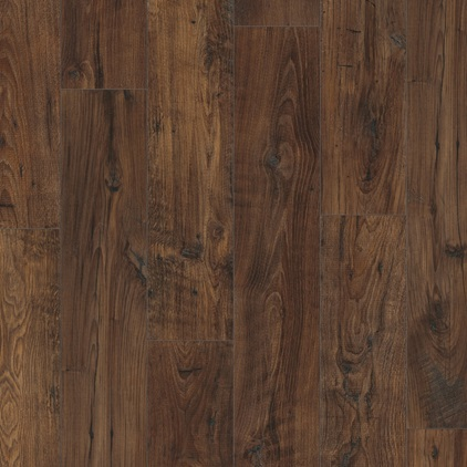 Dark brown Perspective Wide Laminate Reclaimed chestnut dark UFW1542
